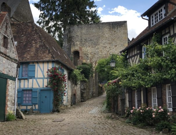 Gerberoy - one of the most beautiful villages in France